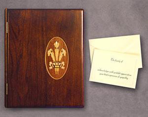 Artisan Wood Memorial Book