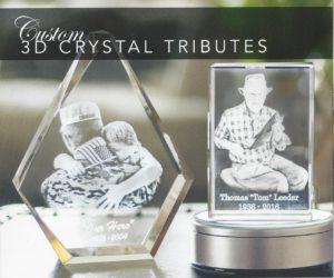 Custom Crystal Tributes