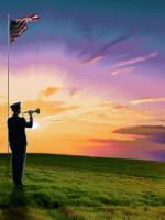 Tribute Blanket sunset