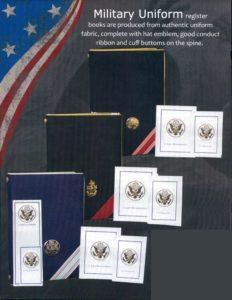 Military Register Book